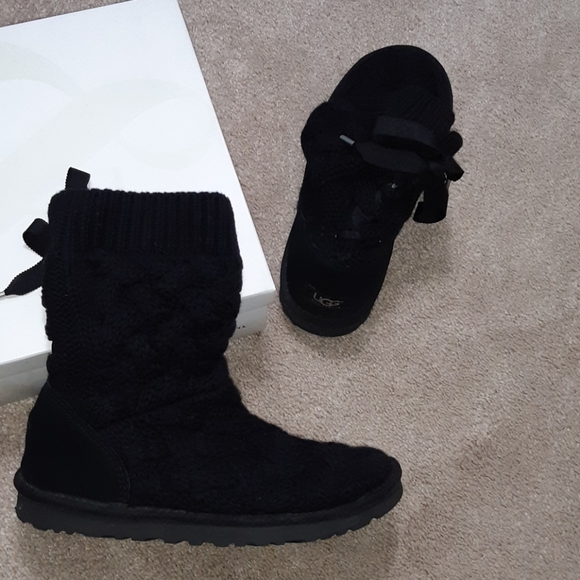 UGG Shoes | S Boots Lace Up Back | Poshmark